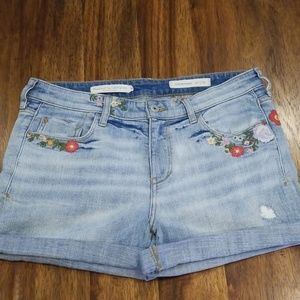 Pilcro Jean shorts size 29 anthropology